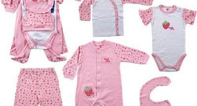 Mẹo chọn quần áo cho trẻ sơ sinh