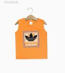 Áo bé trai Adidas màu cam size đại