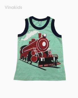 Áo bé trai ba lỗ 1-5 tuổi hình tàu hỏa