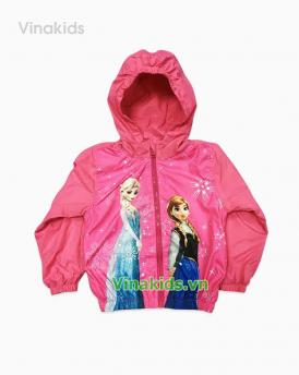 Áo khoác gió bé gái Elisa màu hồng