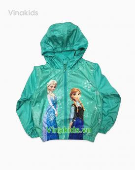 Áo khoác gió bé gái Elisa màu xanh