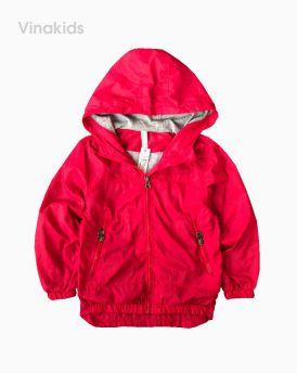 Áo khoác gió bé trai xuất xịn màu đỏ (4-12 tuổi)