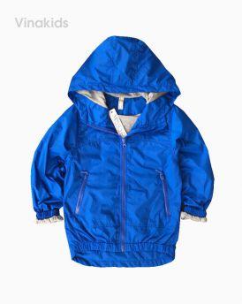 Áo khoác gió bé trai xuất xịn màu xanh (4-12 tuổi)