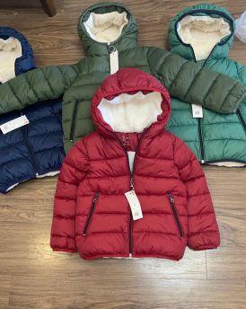 Áo khoác phao bé trai  màu đỏ (25kg-55kg)