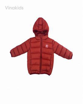 Áo khoác phao siêu nhẹ uni màu cam (1-6 tuổi)