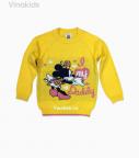 Áo len bé gái mimi màu vàng