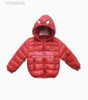 Áo phao siêu nhân màu đỏ