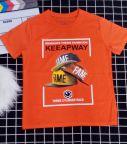 Áo thun bé trai Keeapway màu cam (25-45)