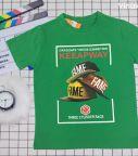 Áo thun bé trai Keeapway màu xanh lá (25-45kg)