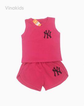 Đồ bộ bé gái ny màu hồng sen cho bé 8-12 tuổi (21-30kg)