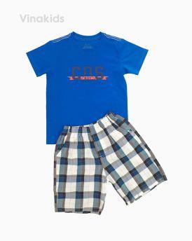 Đồ bộ bé trai COS màu xanh dương (7-11 Tuổi)