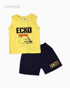 Đồ bộ bé trai Ecko màu vàng size đại