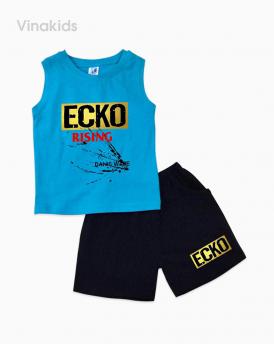 Đồ bộ bé trai Ecko màu xanh dương