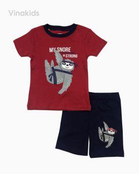 Đồ bộ bé trai borip màu đỏ (2-6 tuổi)