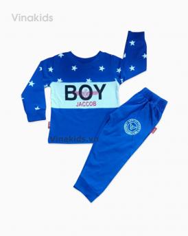 Đồ bộ bé trai boy màu xanh