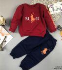 Đồ bộ bé trai dáng thể thao RL67 màu đỏ (2-8 tuổi)