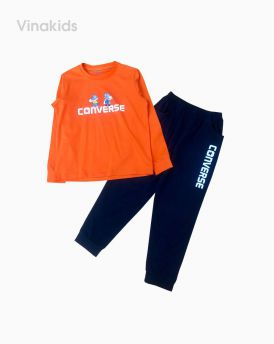 Đồ bộ bé trai hình đôi giày màu cam (7-12 tuổi)
