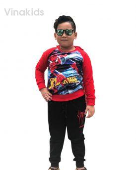 Đồ bộ bé trai siêu nhân 3D spider man (8-10 tuổi)