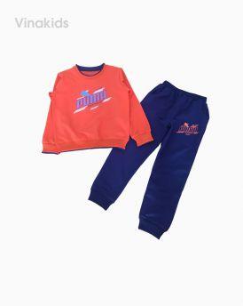Đồ bộ bé trai thể thao Puma màu cam (7-12 tuổi)