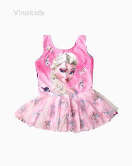 Đồ bơi bé gái Elsa màu hồng (4-7 tuổi)