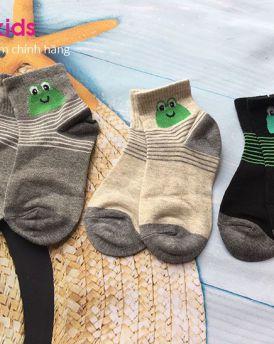 MUA 5 TẶNG 1 tất chân trẻ em hình ếch (3-6 tuổi)