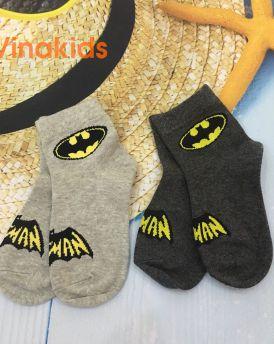MUA 5 TẶNG 1 tất chân trẻ em họa tiết batman (3-6 tuổi)
