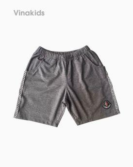 Quần đùi cotton bé trai Fashion màu xám (1-6 tuổi)