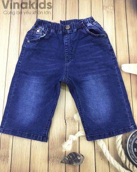 Quần jeans bé trai trơn (30kg đến 50kg)