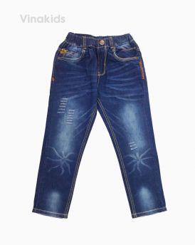 Quần jeans dài bé trai mài màu đậm 32097 (12-16 Tuổi)