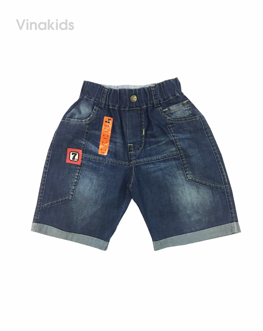 Quần jeans lửng bé trai số 7 (3-8 tuổi)