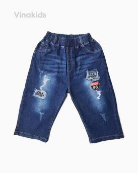 Quần jeans lửng bé trai số 96 (5-8 Tuổi)