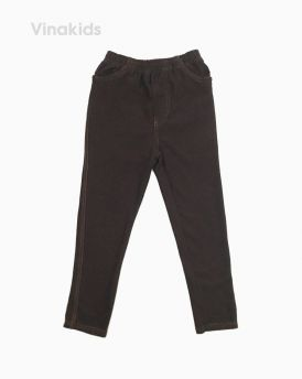 Quần legging giả jeans màu đen(1-9 Tuổi)