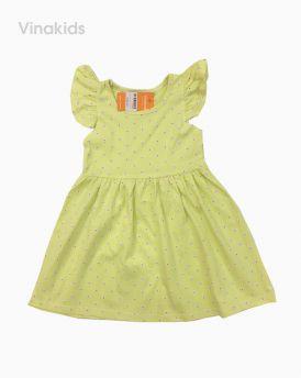 Váy bé gái cotton 1-7 tuổi nhiều màu