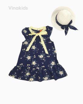Váy đuôi cá bé gái kèm mũ màu tím than (1-8 Tuổi)