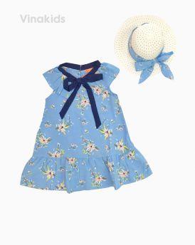 Váy đuôi cá bé gái kèm mũ màu xanh (1-8 Tuổi)