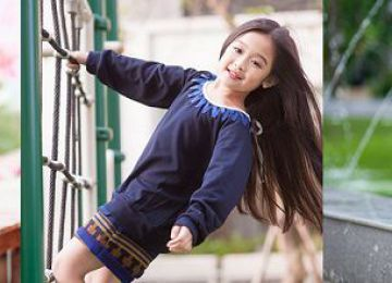 Bật mí lựa chọn áo đầm bé gái 10 tuổi dễ thương, cá tính nhất