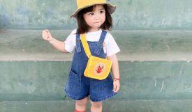 Cách Mix - phối đồ siêu dễ thương cho các bé gái 2 -5 tuổi