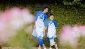 Cách chọn mua áo dài cách tân cho mẹ và bé diện Tết