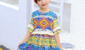 Mẹo chọn váy đầm cho bé gái dáng gầy: Bé xinh mẹ yêu