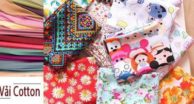 Mua vải cotton ở đâu tại Hà Nội?