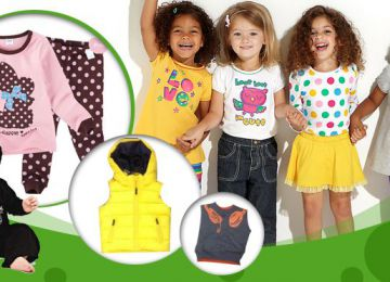 Ưu đãi dành cho khách hàng mới mở shop quần áo trẻ em