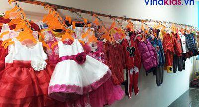 Vinakids – Bán buôn quần áo trẻ em Việt Nam