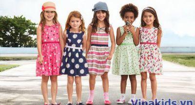 Vinakids - Bán buôn quần áo trẻ em xuất khẩu tại Hà Nội