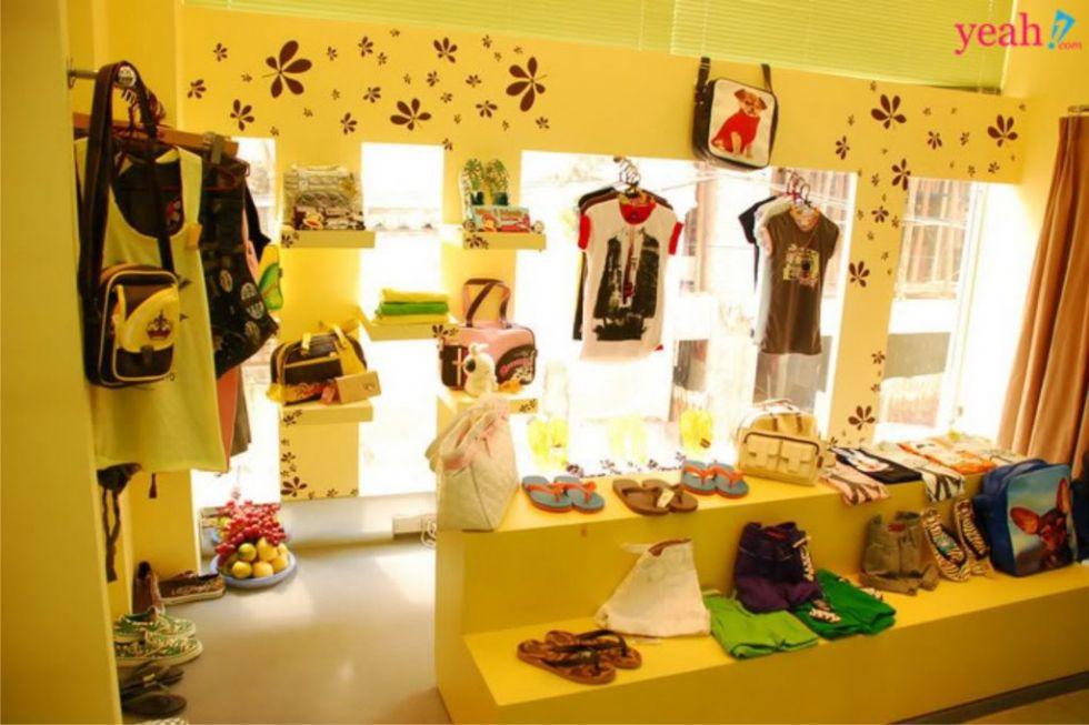 Thiết kế shop quần áo trẻ em đẹp