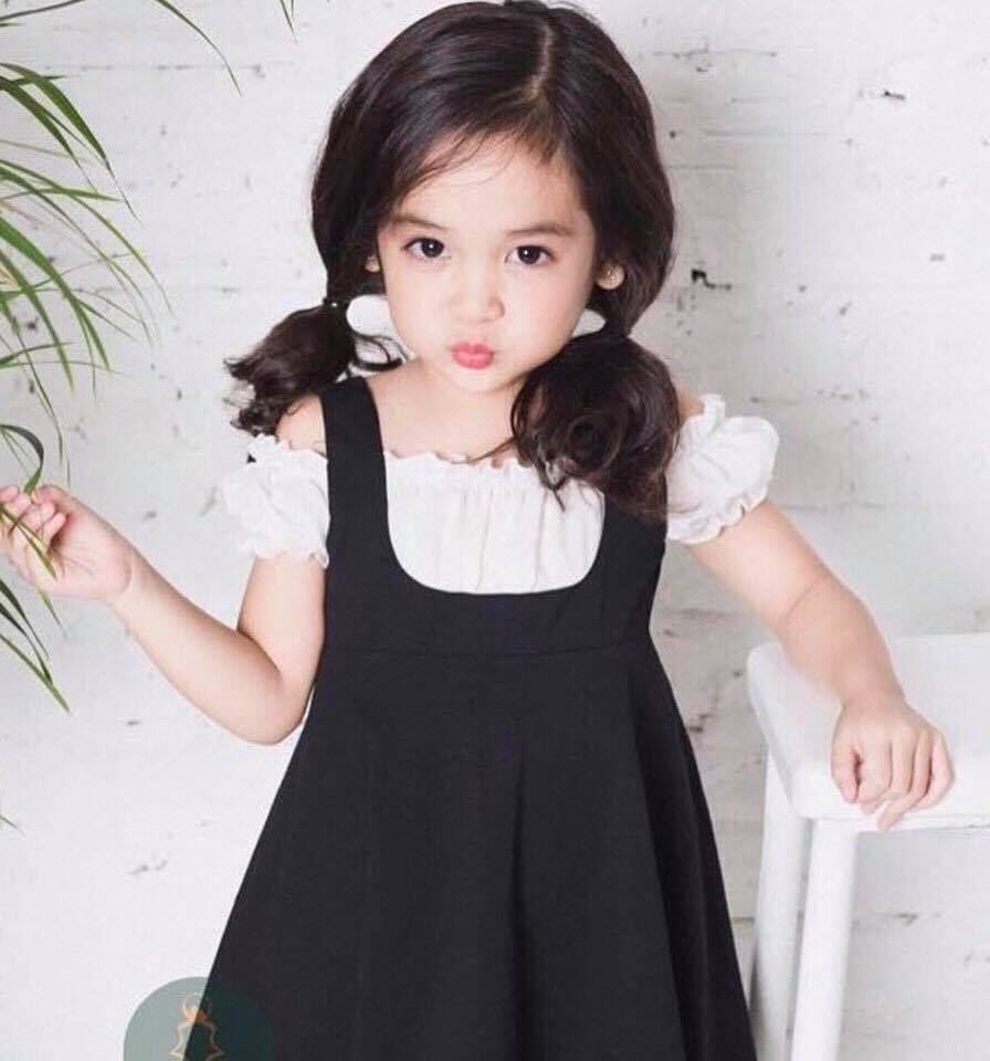 áo đầm bé gái dễ thương 1