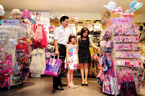 cửa hàng thời trang trẻ em