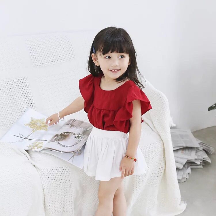Cách chọn trang phục cho các bé gái dáng gầy